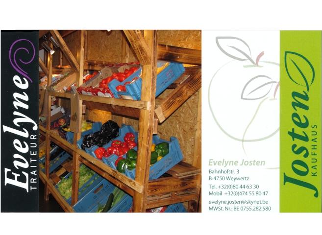 Lebensmittel Evelyne Josten