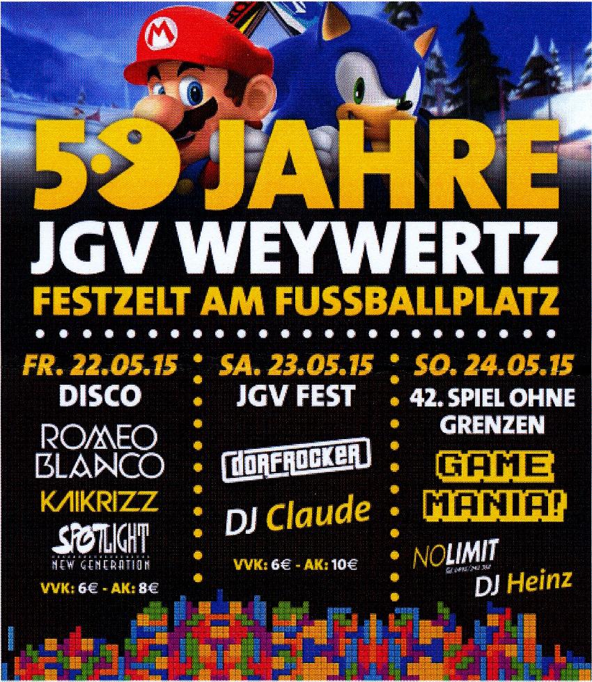 50 Jahre JGV