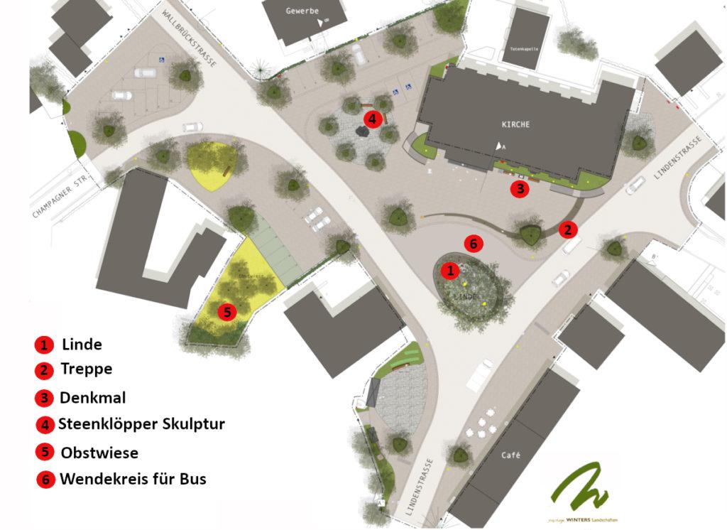 Baustelle Kirchplatz Weywertz