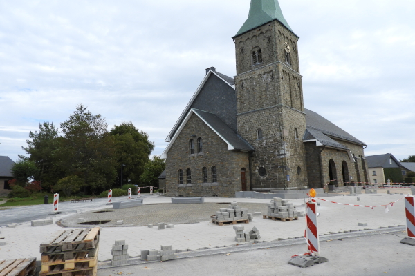 Baustelle neuer Kirchplatz