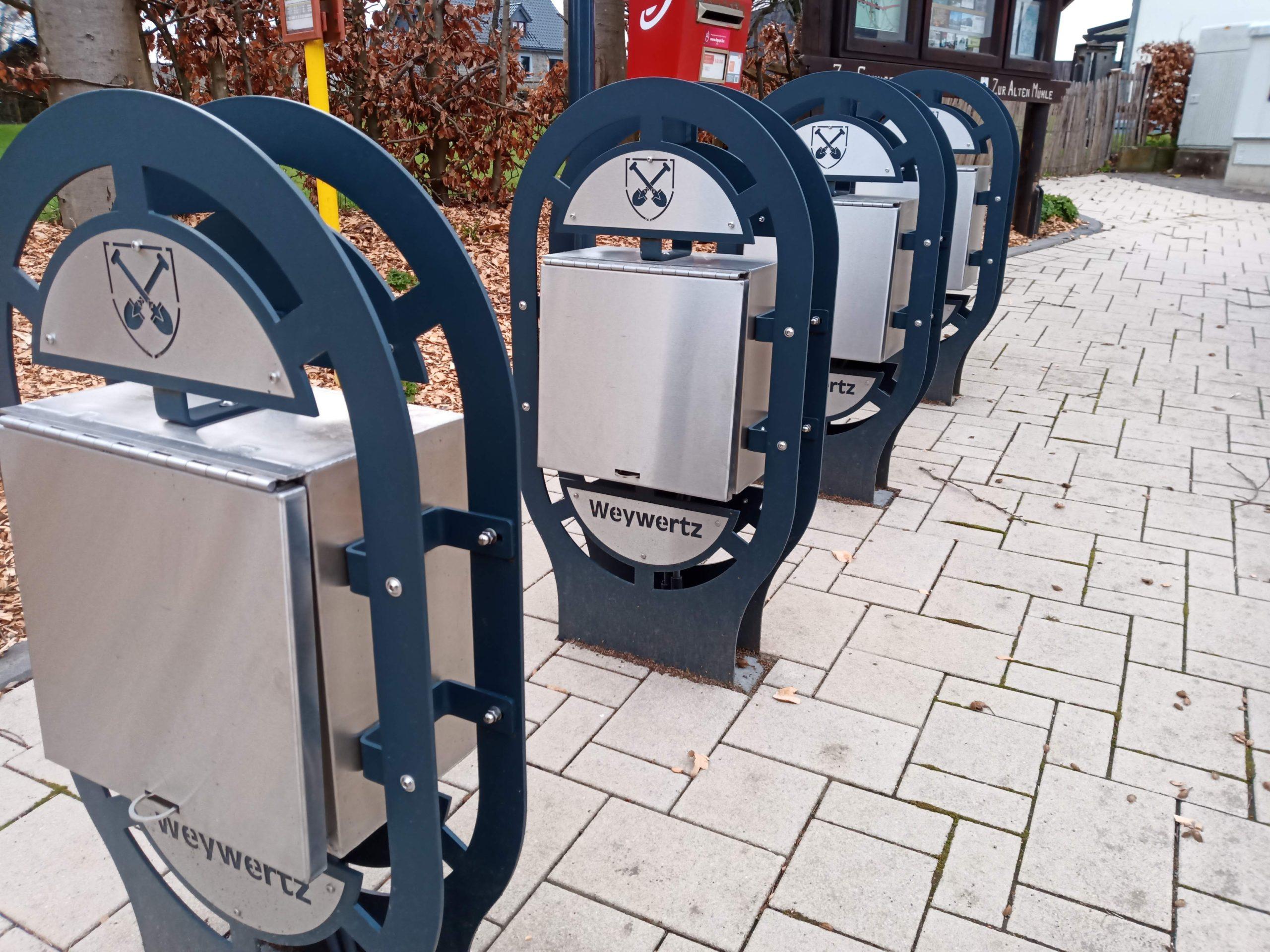 E-Bike Ladestation am Kirchplatz Weywertz